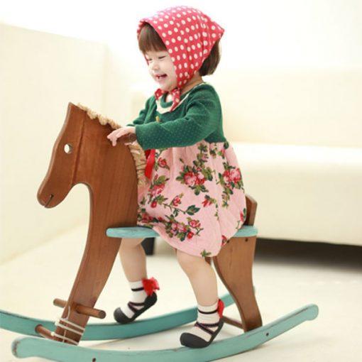 Giầy tập đi Attipas Ballet - giày tập đi bé gái - giày cho bé gái 1 tuổi, giày xinh cho bé