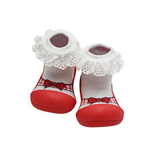 Giầy tập đi Attipas Ballet - giày tập đi cho bé gái 1 tuổi - giày xinh bé gái 1 tuổi