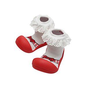 Giầy tập đi Attipas Ballet - giày tập đi cho bé gái 1 tuổi - giày xinh cho bé gái