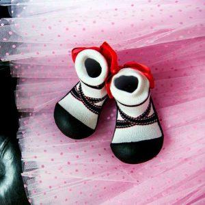 Giầy tập đi Attipas Ballet - Giầy chức năng cho bé tập đi - Giầy xinh cho bé gái, giầy bé gái