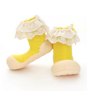 Giầy tập đi Attipas Lady Yellow AW01 - giầy trẻ em attipas.vn