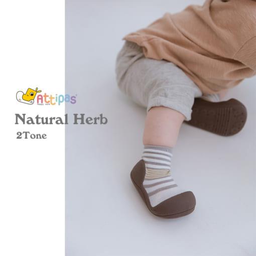 Giầy tập đi Attipas Natural Herb - giầy xinh cho bé gái 1 tuổi - giầy xinh cho bé gái 2 tuổi