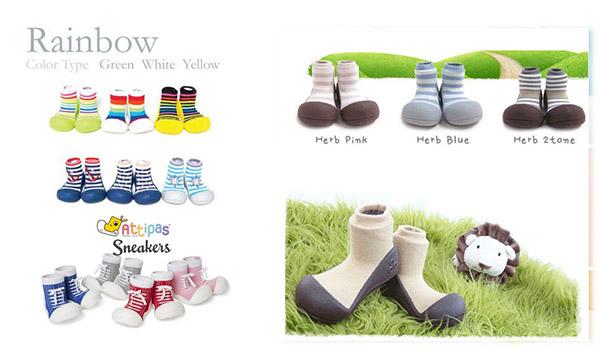 18 mẫu giày xinh cho bé gái tập đi - giày chức năng tập đi Attipas