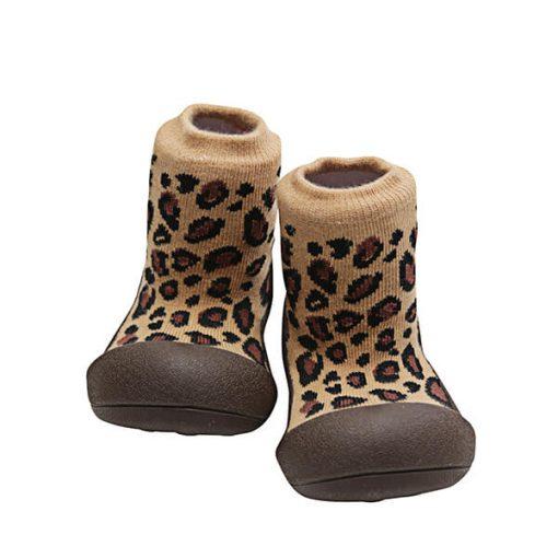 Giầy tập đi Attipas Animal giày cho bé gái dưới 1 tuổi - Giày tập đi cao cấp