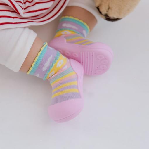 Giầy tập đi Attipas Attibebe - giầy xinh cho bé gái - giầy bé gái tập đi