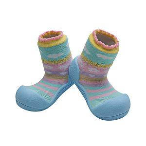 Giầy tập đi Attipas Attibebe Sky AAB02 - giầy cho bé 6 tháng tuổi - giầy xinh cho bé gái