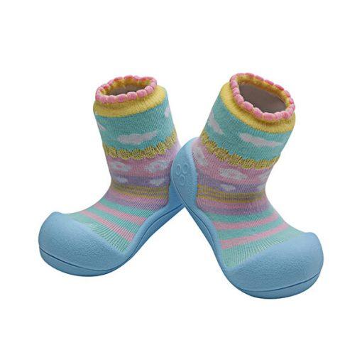 Giầy tập đi Attipas Attibebe Sky AAB02 - giầy cho bé 6 tháng tuổi - giầy bé gái 18 tháng