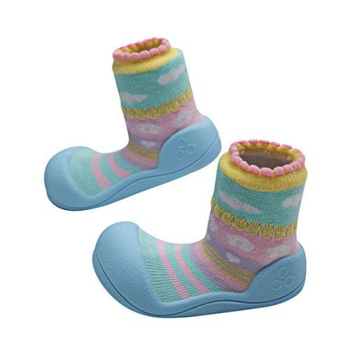 Giầy tập đi Attipas Attibebe Sky AAB02 - giầy cho bé 6 tháng tuổi - giầy bé gái 1 tuổi