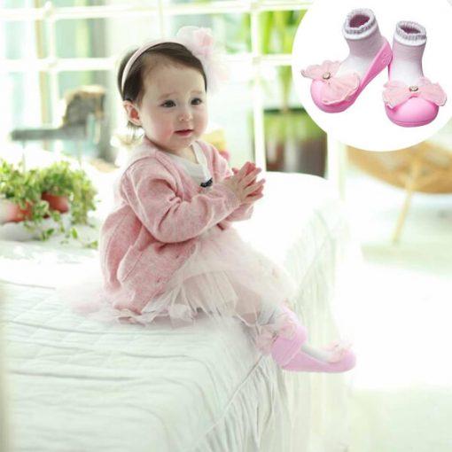 Giầy tập đi Attipas Crystal Pink AQ01 - giầy trẻ em attipas.vn
