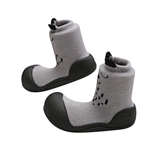Giầy tập đi Attipas Cutie Gray A17CG- giầy cho bé tập đi - giầy xinh cho bé gái