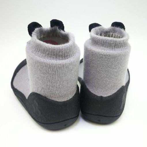 Giầy tập đi Attipas Cutie Gray A17CG- giầy bé gái 3 tuổi - giầy tập đi cho bé gái