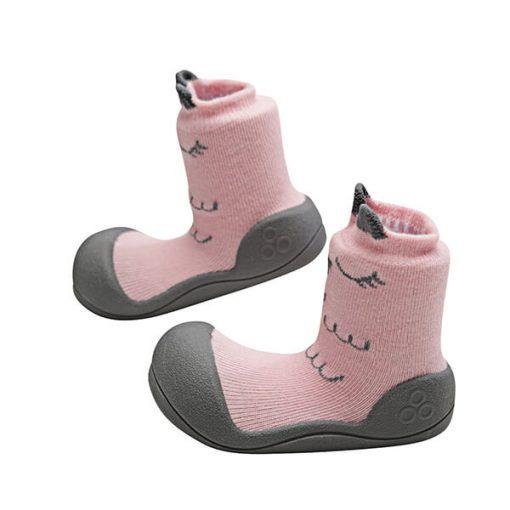Giầy tập đi Attipas Cutie Pink A17C- giày bé gái tập đi - giầy tập đi cho bé gái 1 tuổi