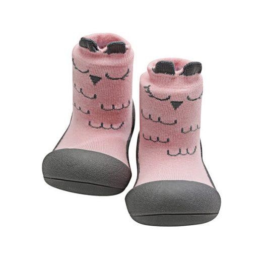 Giầy tập đi Attipas Cutie Pink A17C- giầy xinh cho bé gái - giầy cho bé tập di