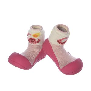 Giầy tập đi Attipas Dinosaur - Giầy chức năng cho bé tập đi - Giầy tập đi cho bé gái, giầy cho bé gái 1 tuổi đẹp