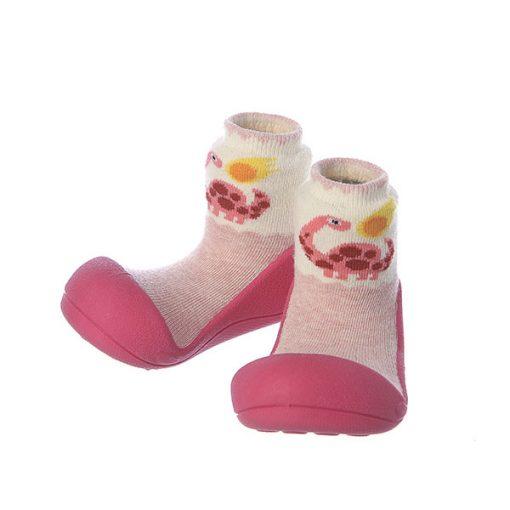 Giầy tập đi Attipas Dinosaur - Giầy chức năng cho bé tập đi - Giầy tập đi cho bé gái, giầy xinh cho bé gái 1 tuổi,