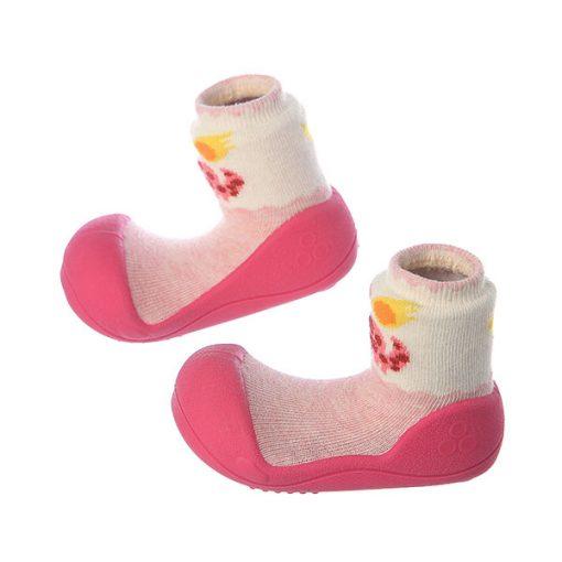 Giầy tập đi Attipas Dinosaur - Giầy chức năng cho bé tập đi - Giầy tập đi cho bé gái, giầy bé gái 2 tuổi