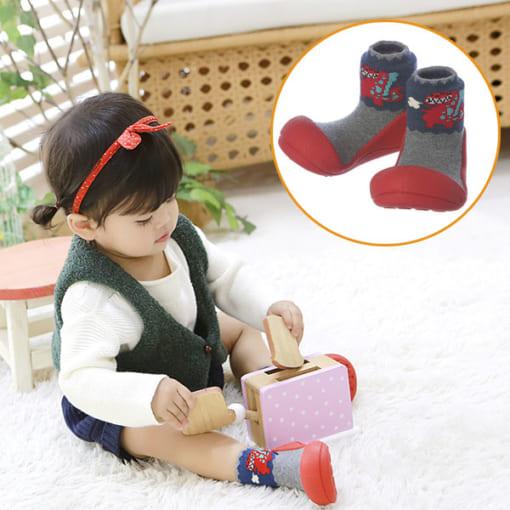 Giầy tập đi Attipas Dinosaur - giầy xinh cho bé gái - Giầy tập đi cho bé gái, giầy xinh bé gái