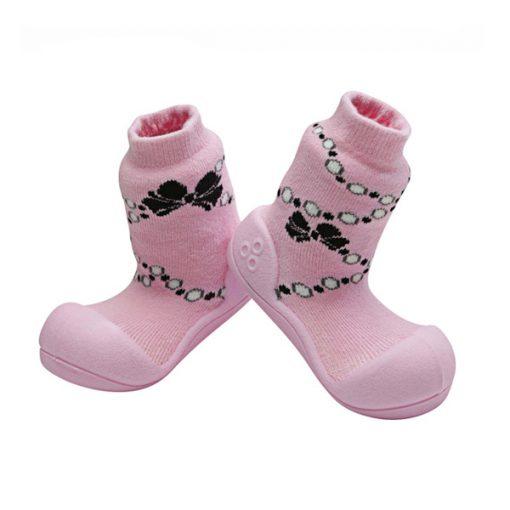 Giầy tập đi Attipas French Pearl - Giầy tập đi cho bé gái 1 tuổi - Giầy xinh cho bé gái