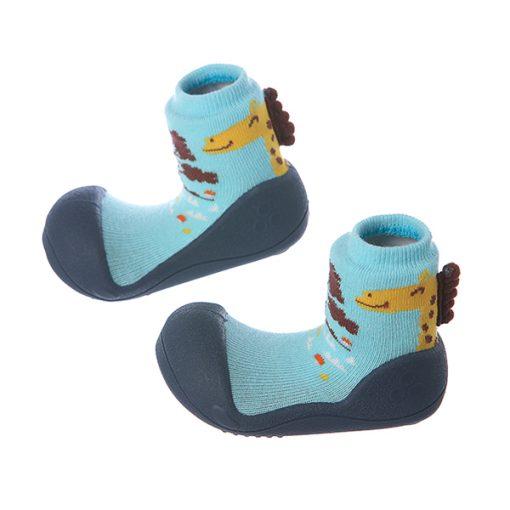Giầy chức năng tập đi Attipas Giraffe Navy A18G - giày xinh cho bé trai - giày tập đi cho bé trai 2 tuổi