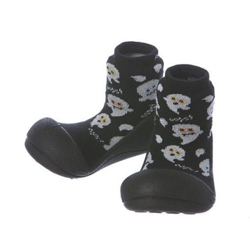 Giầy chức năng tập đi Attipas Halloween A18H-Black - giầy xinh cho bé trai - giầy xinh cho bé gái 1 tuổi