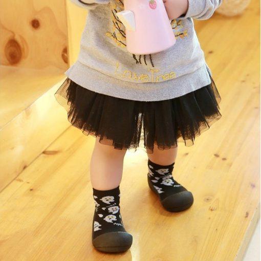 Giầy chức năng tập đi Attipas Halloween A18H-Black - giầy trẻ em cao cấp - giầy cho bé tập đi
