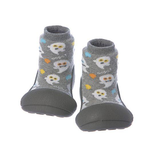 Giầy chức năng tập đi Attipas Halloween A18HG-Gray - giầy tập đi attipas - giầy tập đi cho bé 12 tháng