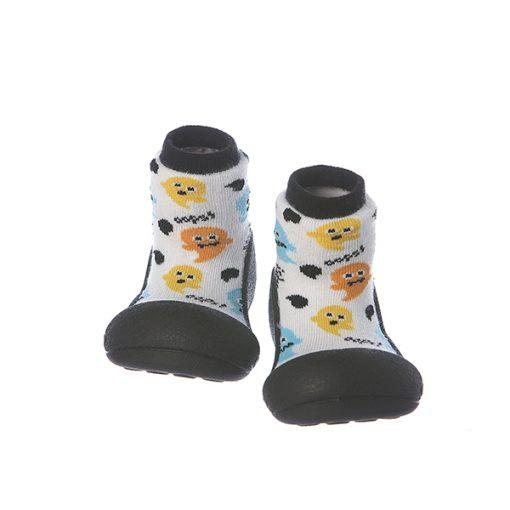 Giầy chức năng tập đi Attipas Halloween A18H-White - giầy tập đi hàn quốc - giày chức năng cho bé tập đi