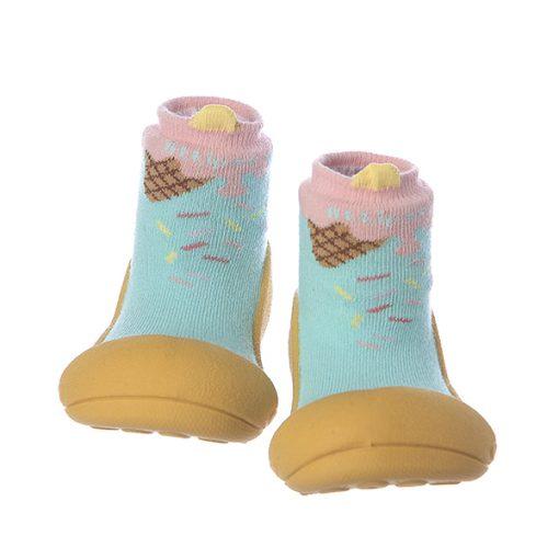 Giầy chức năng tập đi Attipas Ice Cream Mustard A18IM - giầy xinh cho bé trai - giầy tập đi cho bé