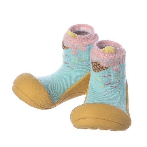 Giầy chức năng tập đi Attipas Ice Cream Mustard A18IM - giày xinh cho bé trai - giầy tập đi cho bé