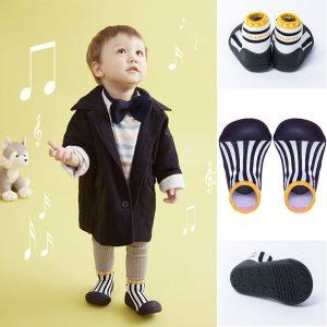 Giầy tập đi Attipas Little Star Black ALS02 - giầy trẻ em attipas.vn