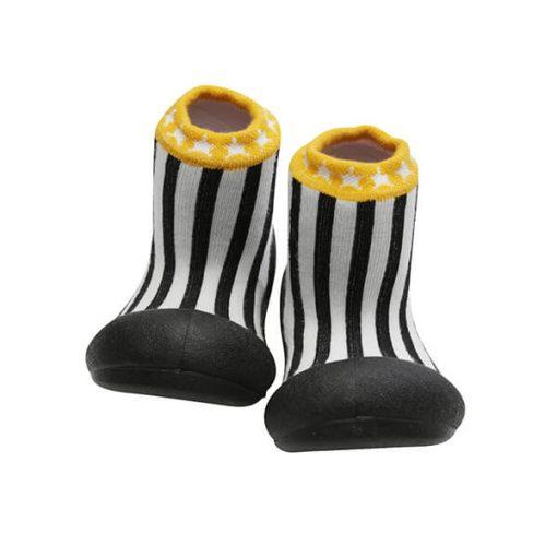 Giầy tập đi Attipas Little Star Black ALS02 - giày cho bé gái 2 tuổi - giầy cho bé tập đi