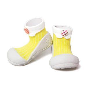 Giầy tập đi Attipas Lollipop Yellow AP02 - giày cho bé tập đi tphcm - giày xinh cho bé gái tập đi