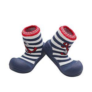 Giầy tập đi Attipas Marine Red AM01 - Giày cho bé trai 6 tháng - Giầy bé trai tập đi