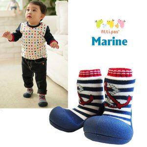 Giầy tập đi Attipas Marine Red AM01 - giày dép tập đi cho bé - Giầy chức năng tập đi cho bé