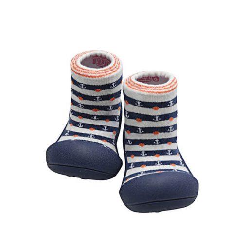 Giầy tập đi Attipas Marine Navy AM03 - Giày cho bé trai 6 tháng - Giầy bé trai tập đi