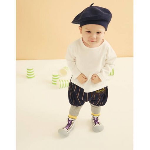 Giầy tập đi Attipas New Sneakers Yellow AZ01 - giầy thể cho bé trai tập đi - giày bé trai 1 tuổi