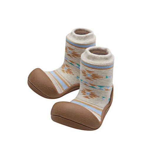 Giầy tập đi Attipas Nordic Brown AND01 - giầy trẻ em tập đi - giày tập đi hàn quốc
