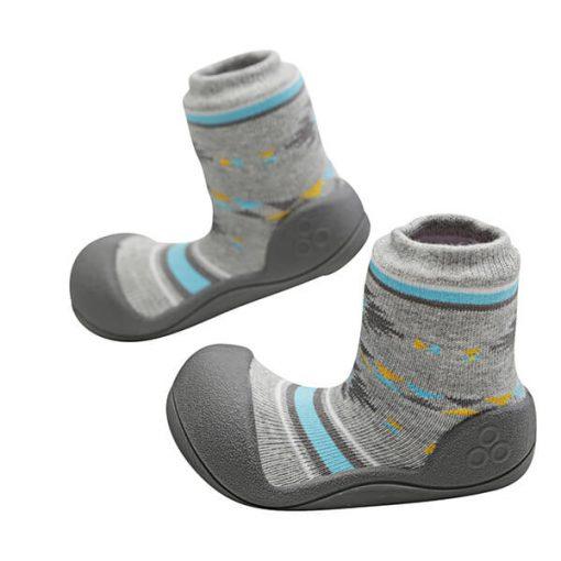 Giầy tập đi Attipas Nordic Gray AND02- giầy trẻ em cao cấp - mẫu giày đẹp cho bé trai 1 tuổi
