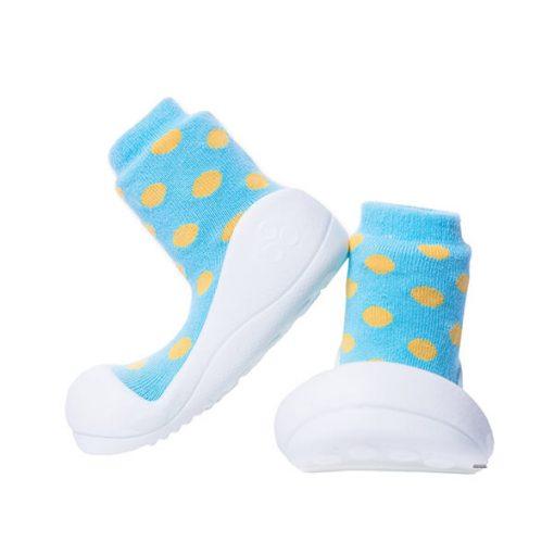 Giầy tập đi Attipas Polka Dot Sky AD04 - giày cho bé gái 1 tuổi hcm - Giày đẹp cho bé trai 1 tuổi