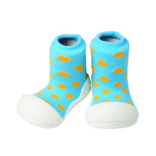 Giầy tập đi Attipas Polka Dot Sky AD04 - Giày xinh bé trai 1 tuổi - Giầy xinh cho bé trai 8 tháng