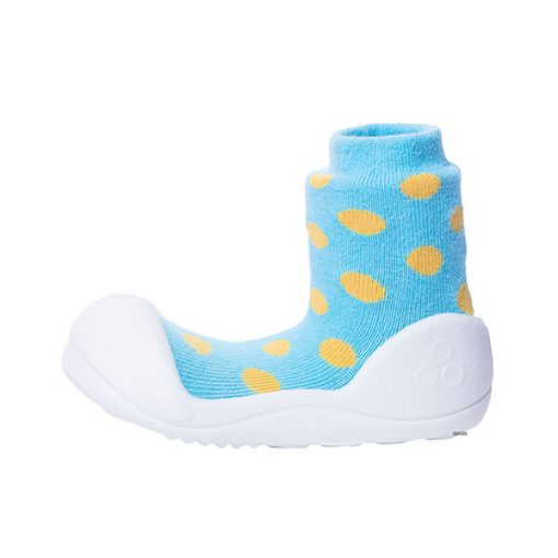 Giầy tập đi Attipas Polka Dot Sky AD04 - Giày em bé 1 tuổi - Giày đẹp cho bé trai 1 tuổi