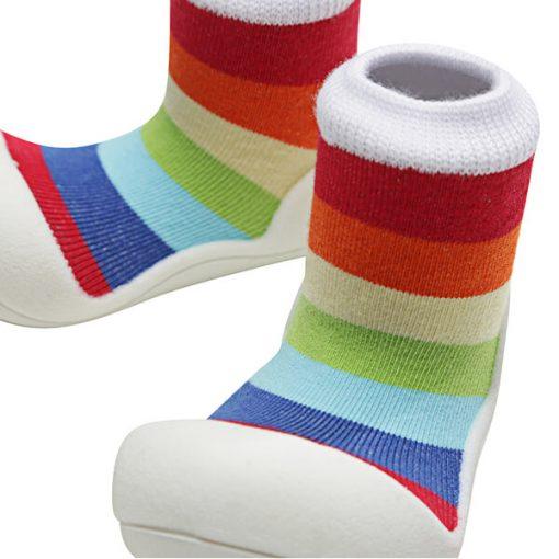 Giầy tập đi Attipas Rainbow - giày cho bé trai 1 tuổi tphcm - Giầy tập đi bé trai