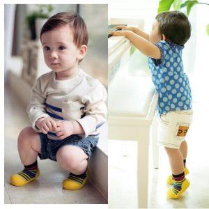Giầy tập đi Attipas Rainbow - Giầy chức năng cho bé tập đi - giày cho bé tập đi