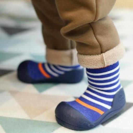Giầy chức năng tập đi Attipas Ringle Navy PR03 - giày xinh cho bé trai - giày bé trai 2 tuổi