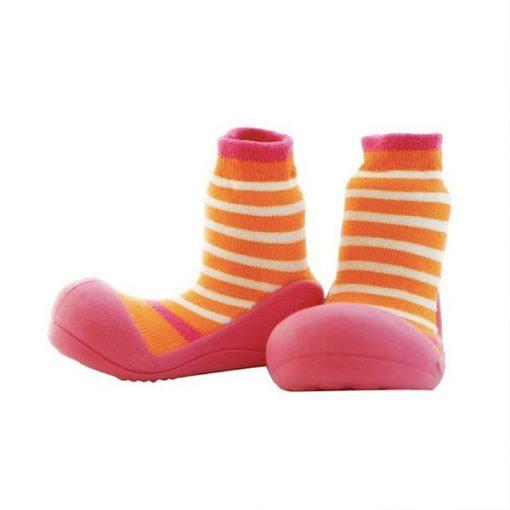 Giầy chức năng tập đi Attipas Ringle Fuchsia PR01 - giầy tập đi cho bé - giày attipas hàn quốc