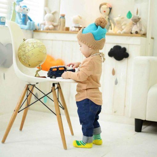 Giầy chức năng tập đi Attipas Ringle Yellow PR02 - giày xinh cho bé trai - giày bé trai 1 tuổi