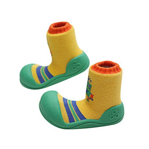 Giầy tập đi Attipas Robot Green ARO01 - giày dép trẻ em cao cấp - giầy cho bé tập đi