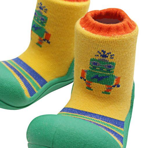 Giầy tập đi Attipas Robot Green ARO01 - giầy trẻ em tập đi - giày bé trai 1 tuổi