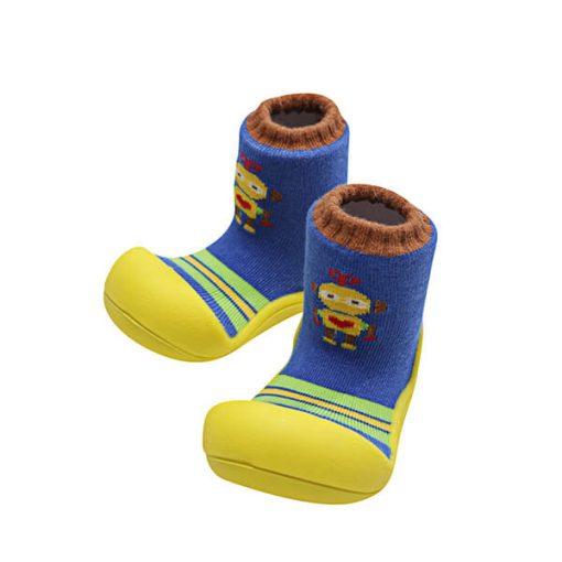 Giầy tập đi Attipas Robot Yellow ARO03 - giầy trẻ em tập đi - giầy bé trai tập đi