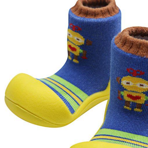 Giầy tập đi Attipas Robot Yellow ARO03 - giầy trẻ em tập đi - giầy cho bé tập đi attipas